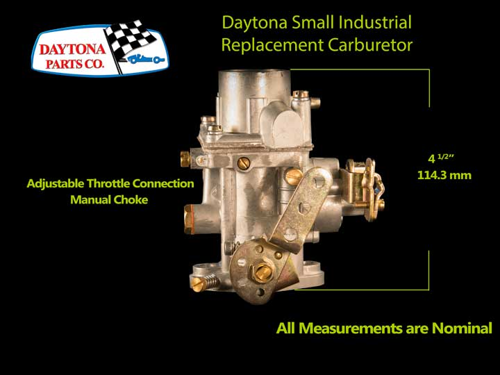 Daytona Parts Small Industrial Carburetor